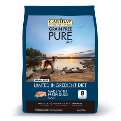 CANIDAE 無穀鮮鴨肉犬糧 5.4kg