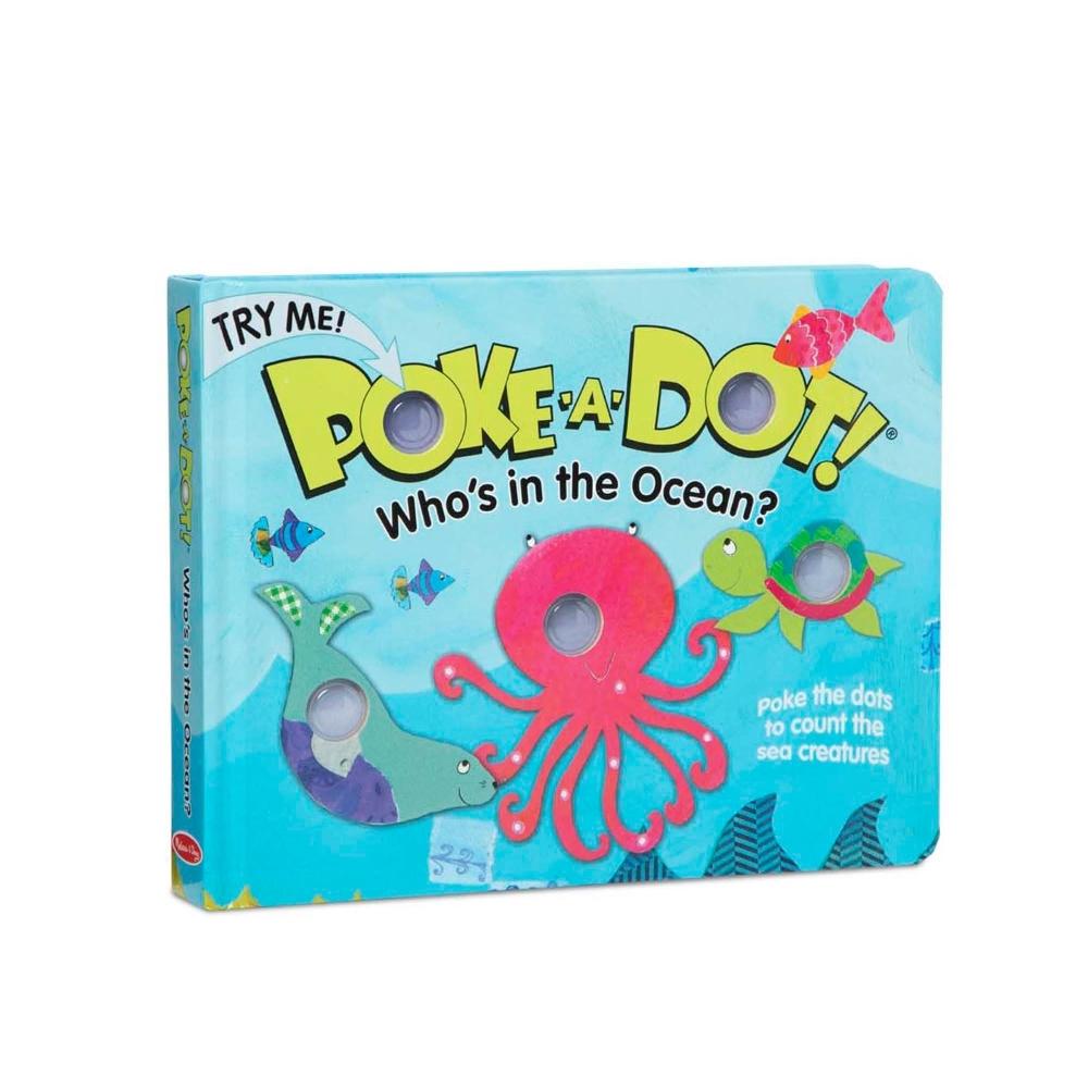 【Melissa & Doug 美國瑪莉莎】神奇泡泡書 - 誰在海洋裡?