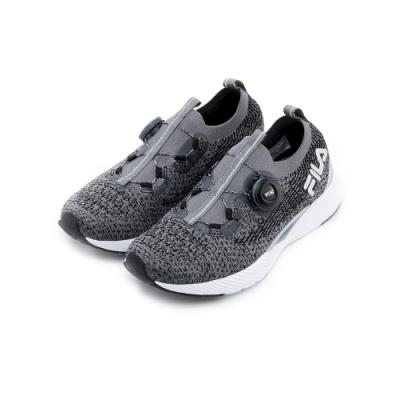 FILA V1 男性慢跑鞋-黑 1-J530T-001