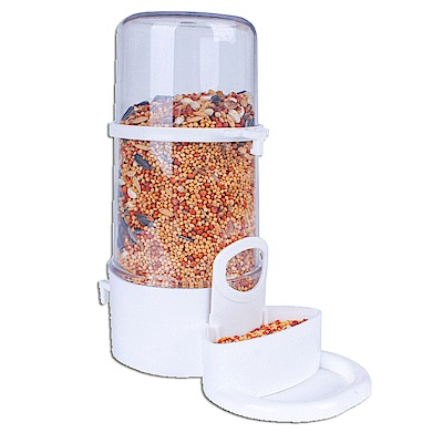 dyy》倉鼠|兔子鳥食碗自動餵食器14*15.7cm
