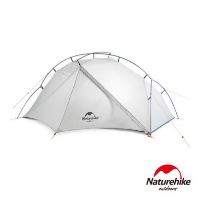 Naturehike 維克單人便攜超輕雙Y自立外掛式帳篷 附地席-急