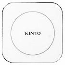 KINYO 鋁合金10.8W無線充電板