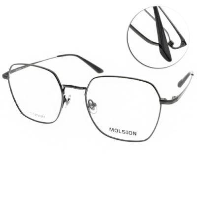 MOLSION 光學眼鏡 Angelababy代言 黑  # MJ1006 B11