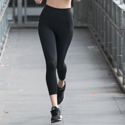 華歌爾 專業時尚 M-3L專業好動壓力褲(酷涼黑) 4方超彈力科技纖維 靈活舒適