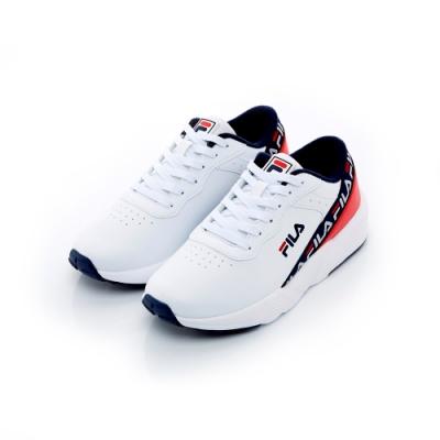 FILA BANDA 中性復古運動鞋-白 4-J909T-123