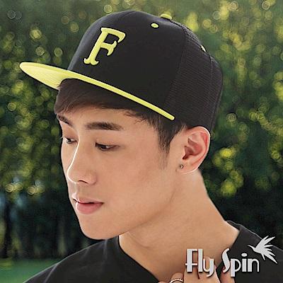 FLYSPIN 平眉造型網眼透氣hiphop嘻哈街舞帽潮帽