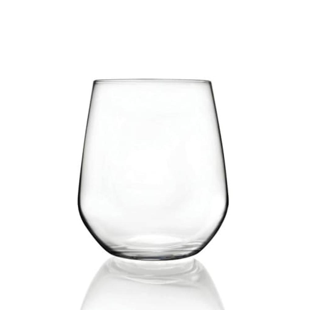 義大利RCR悠妮絲無鉛水晶威士忌酒杯430ml-6入