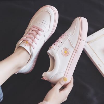 韓國KW美鞋館 賣瘋了輕熟舒心平底鞋-粉