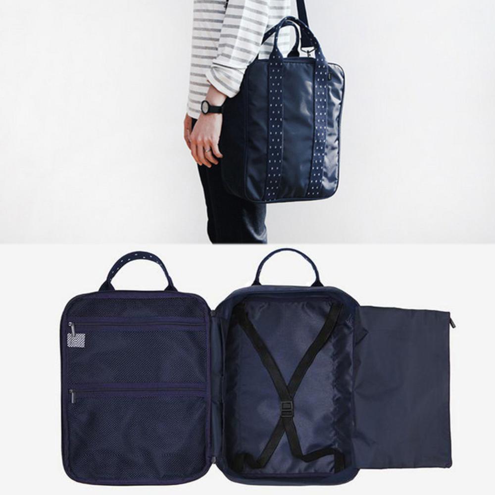 iSPurple 手提側背 旅行長方行李箱杆包 2色可選
