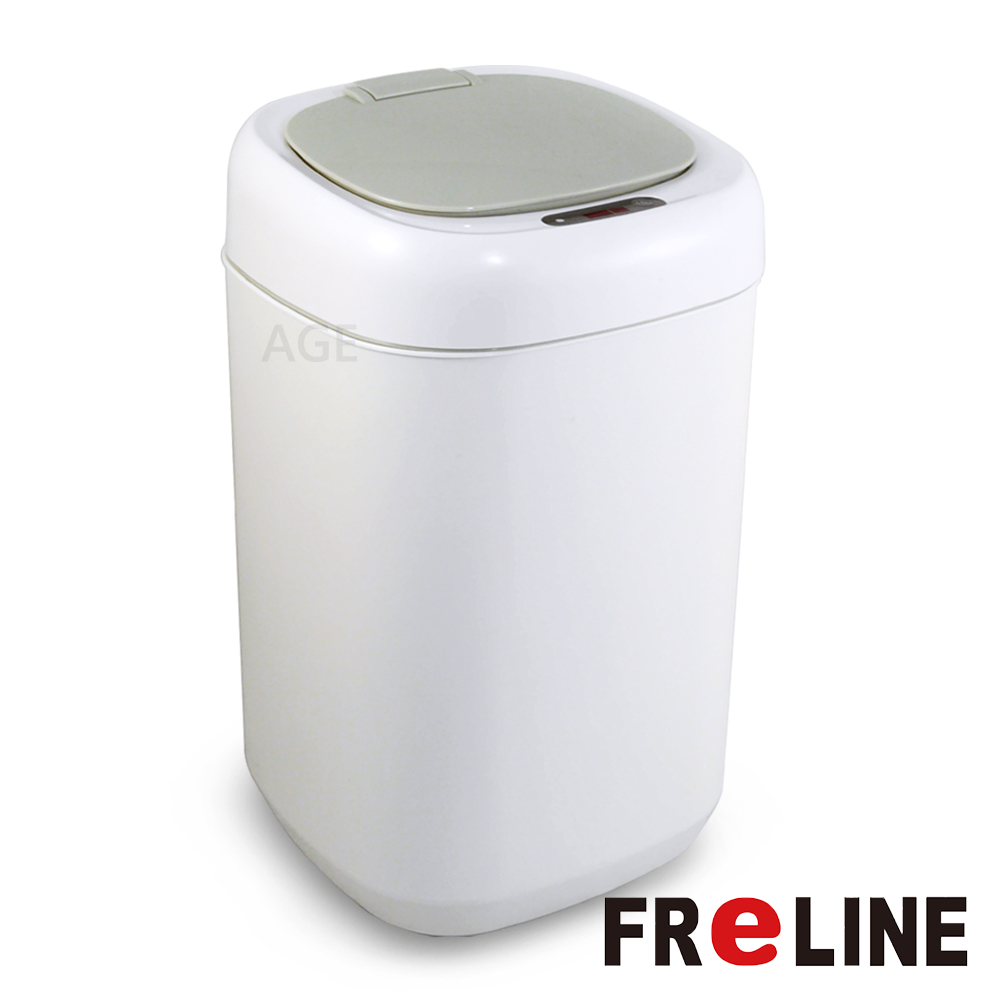 FReLINE 感應式掀蓋垃圾桶9公升 FTC-091