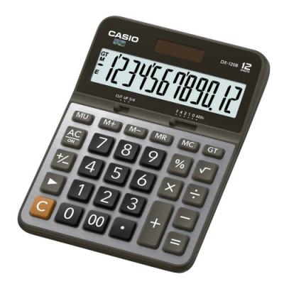 CASIO卡西歐-12位數商用計算機(DX-120B)
