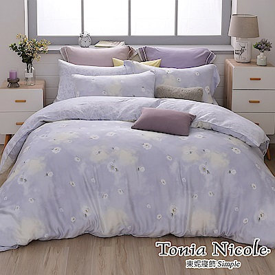 Tonia Nicole東妮寢飾 曜雪如嫣100%萊賽爾天絲兩用被床包組(特大)