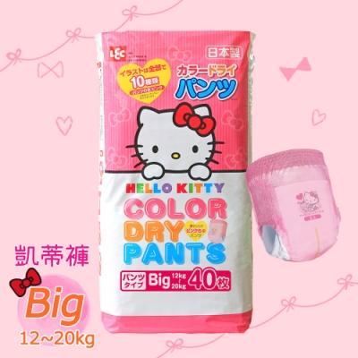日本LEC Hello Kitty凱蒂紙尿褲 Big 120片 (12~20Kg)