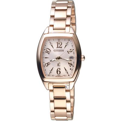CITIZEN xC 光彩時尚電波腕錶(ES9392-51W)