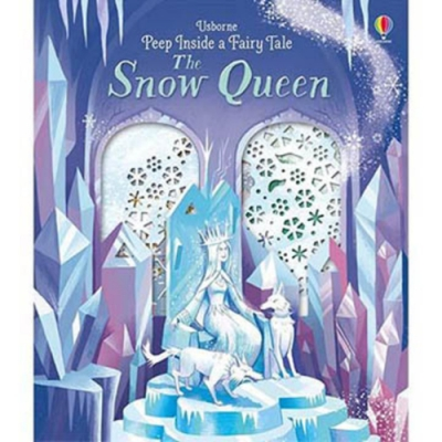 Peep Inside A Fairy Tale:The Snow Queen 冰雪女王操作書