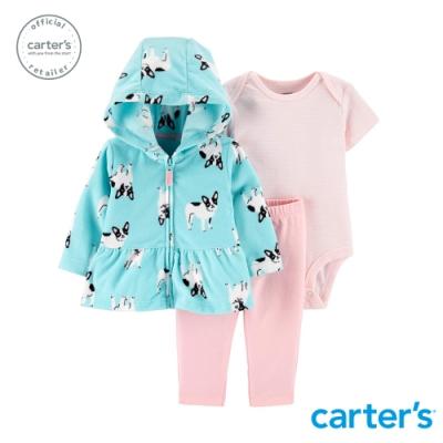 Carter s台灣總代理 可愛法鬥外套3件組套裝