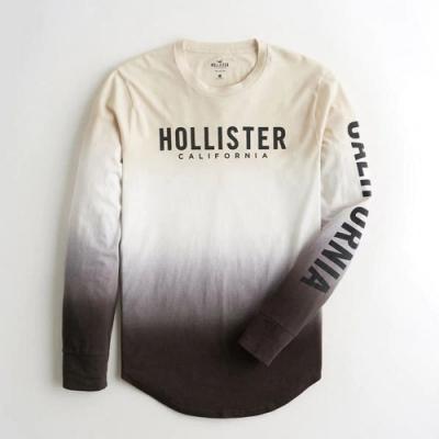 Hollister HCO 長袖 T恤 白色  1433