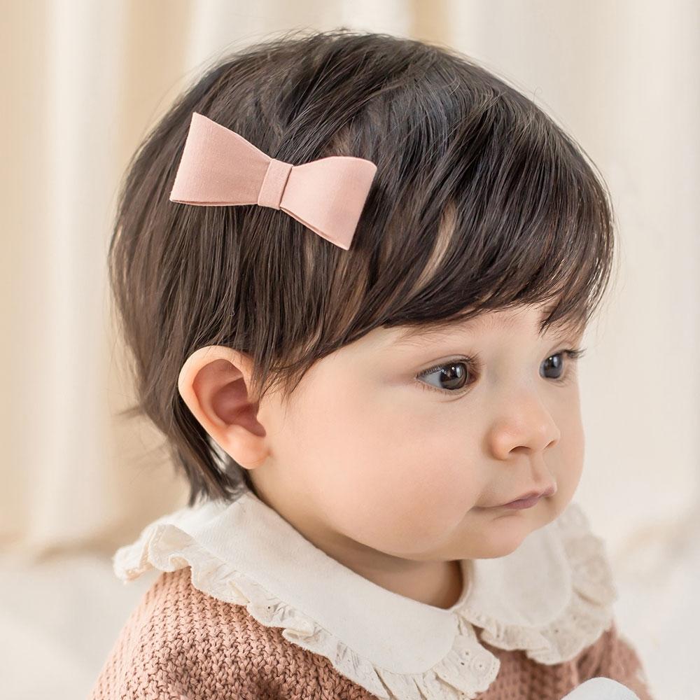 Happy Prince韓國製 Rubia蝴蝶結女嬰兒童髮夾-多色