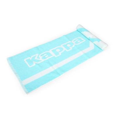 KAPPA 運動毛巾 水藍白