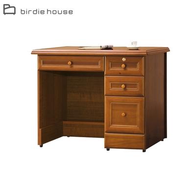 柏蒂家居-歐普拉3.5尺四抽書桌/辦公桌-105x63x81cm
