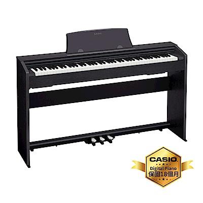 [無卡分期-<b>12</b>期]CASIO卡西歐原廠Privia入門款數位鋼琴PX-770