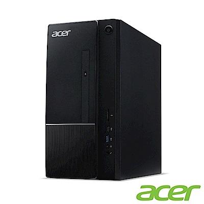 Acer TC-866 八代i3四核桌上型電腦(i3-8100/4G/500G+500G/Win10h)