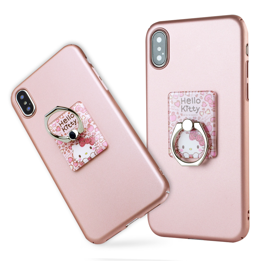 iStyle iPhone X/XS 5.8吋 Hello Kitty 粉色魅力支架手機殼 @ Y!購物