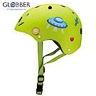 GLOBBER 哥輪步 兒童戶外活動防護安全帽-火箭綠