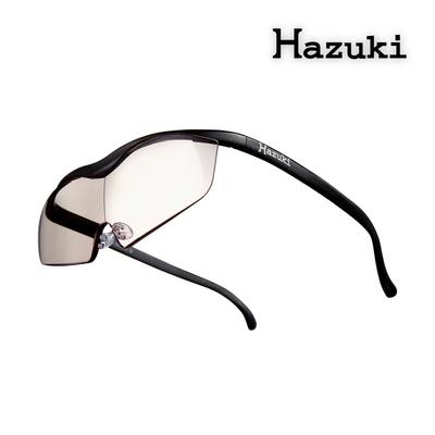 【Hazuki】日本葉月抗藍光放大鏡1.85倍大鏡片-茶色鏡片 (黑-濾藍光率55%)