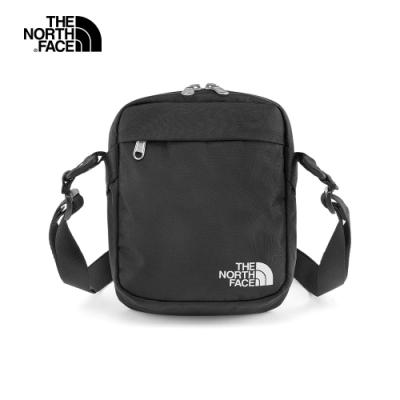 The North Face北面男女款黑色休閒斜背包|3BXBKY4
