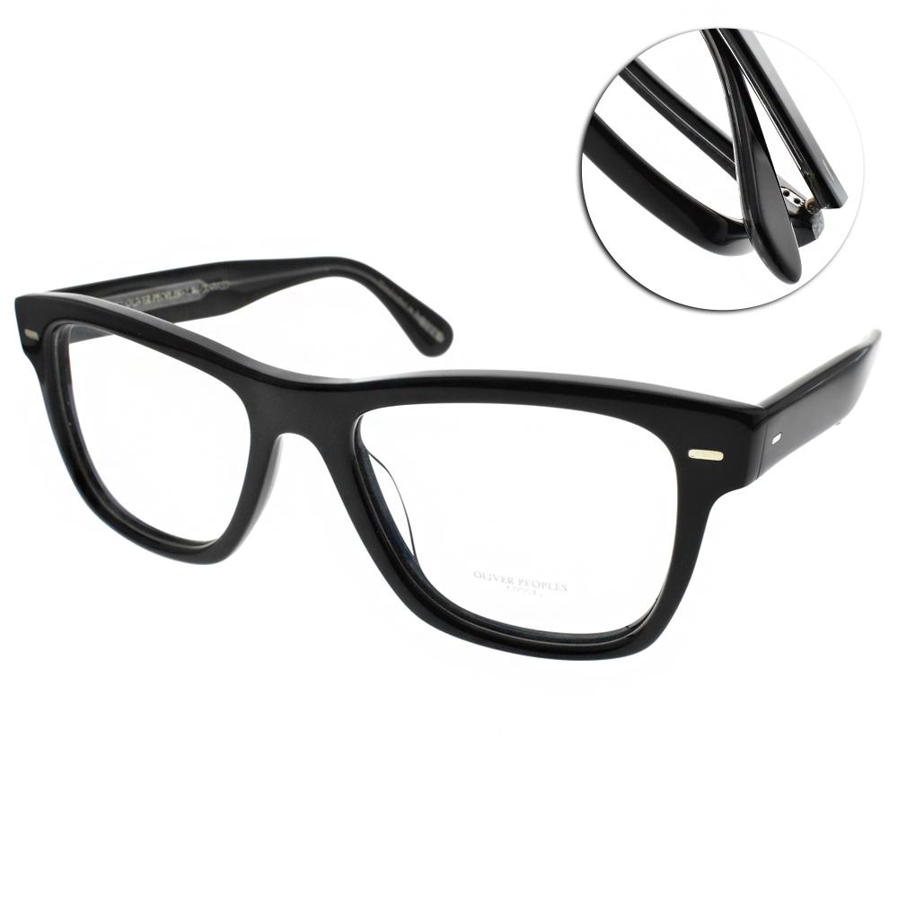 OLIVER PEOPLES眼鏡 復古經典/黑 #OLIVER 1492