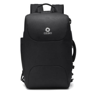leaper OZUKO USB充電雙重防盜密碼鎖三用電腦後背包共3色