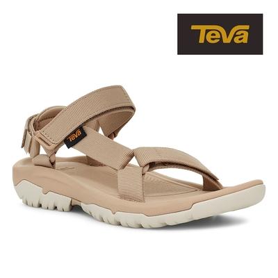 【TEVA】原廠貨 女 Hurricane XLT2 機能運動涼鞋/雨鞋/水鞋(奶茶色-TV1019235SSME)