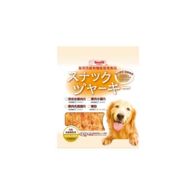 SEEDS聖萊西-寵物機能管理食品黃金系列-骨狀型雞肉片200g (DJR-04)