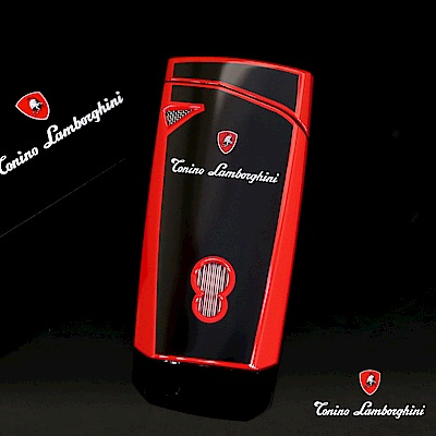 藍寶堅尼Tonino Lamborghini MAGIONE LIGHTER打火機(黑紅)