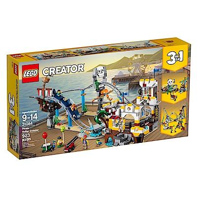 【LEGO樂高】3合1創作系列 31084 海盜雲宵飛車