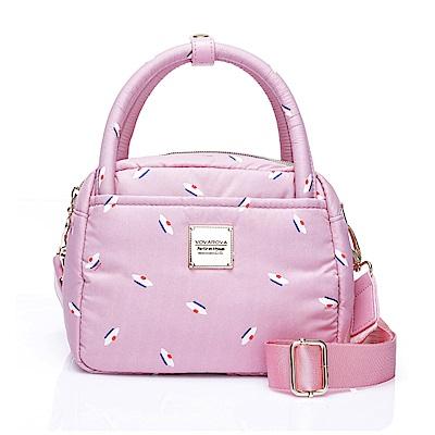 VOVAROVA空氣包-氣質兩用包-French Pom Pom- Pink