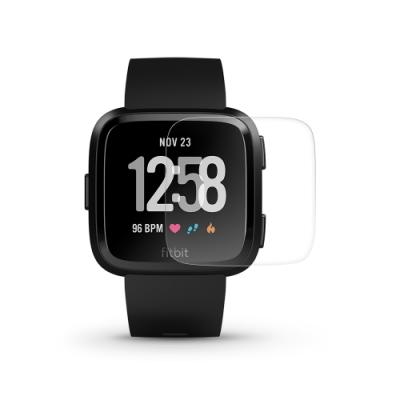 T.G Fitbit Versa 高透3D防爆水凝膜螢幕保護貼-滿版(2入)