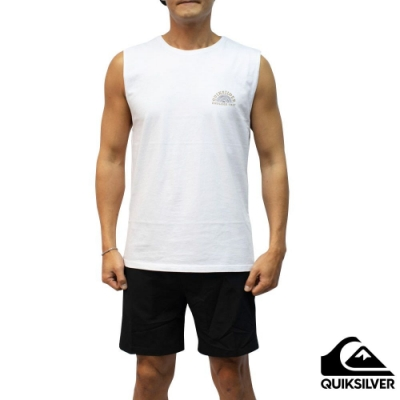 【QUIKSILVER】ABSENT MINDS MUSCLE 背心 白色