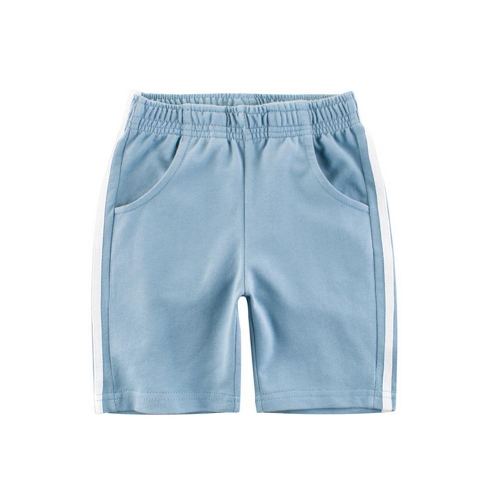 Baby童衣 美式休閒彈性五分褲 男女童夏季舒適短褲棉褲 88134