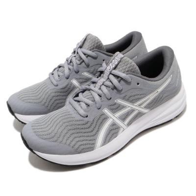 Asics 慢跑鞋 Patriot 12 運動休閒 女鞋 亞瑟士 輕量 緩衝 入門 日常穿搭 灰 白 1012A705021