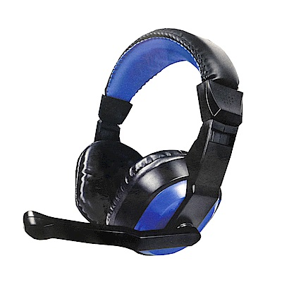 KINYO 頭戴式立體聲耳機麥克風(EM-3653)