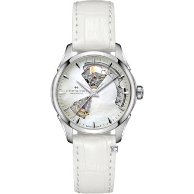 HAMILTON漢米爾頓爵士系列 OPEN HEART LADY機械錶(H32215890)36mm