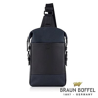 BRAUN BUFFEL - 尼爾系列潮流單肩包 - 太空藍