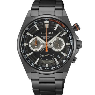 SEIKO精工 CS 競速三眼計時腕錶 8T63-00T0SD(SSB399P1)-41mm