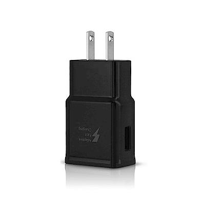 SAMSUNG 原廠 9V快速旅行充電器_新款黑 (密封袋裝)