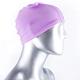 泳帽 休閒戲水高彈力布面泳帽(紫F) AngelHoney天使霓裳 product thumbnail 1