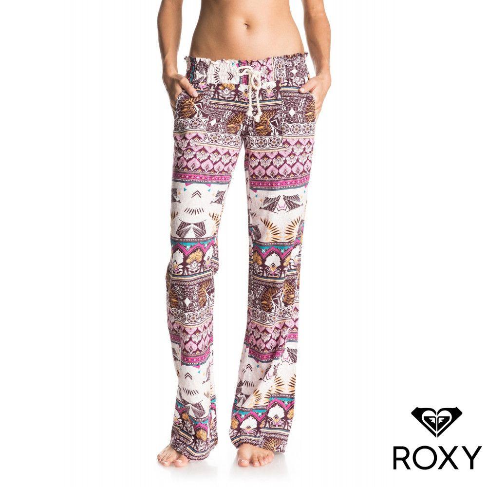 【ROXY】OCEANSIDE PANT PRINTED 長褲