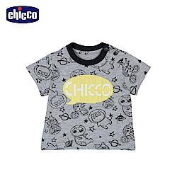 chicco-To Be Baby-太空動物短袖上衣