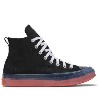 CONVERSE CTAS CX HI 高筒 透明 果凍底 舒適 休閒鞋 男女 黑 167809C